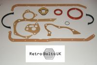 Ford Xflow Crossflow Bottom End Gasket Set
